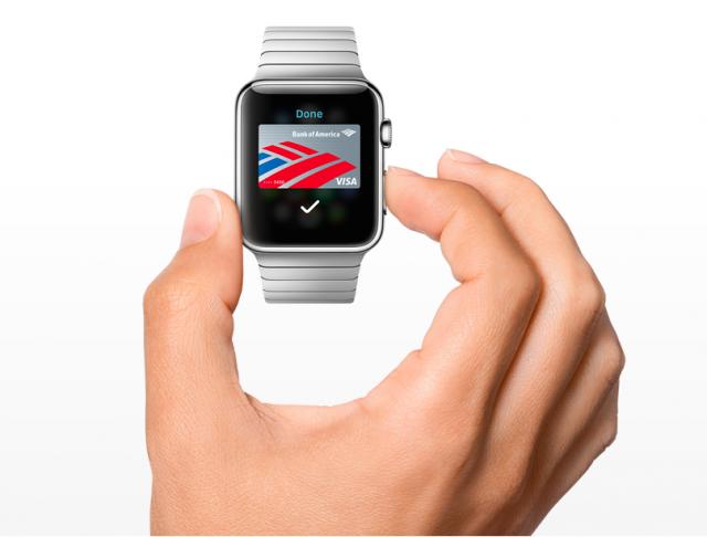 Apple Pay on Apple Watch