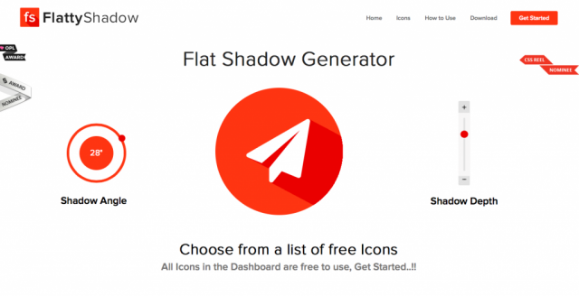 Flat Shadow Generator