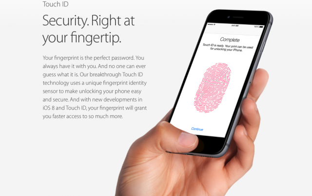 Apple iPhone 6 Touch ID