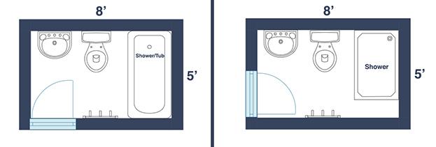 Moreover small 3 4 bathroom floor plans further small bathroom