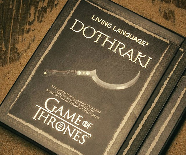 Dothraki Language Book
