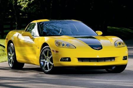 A yellow Corvette ZHZ