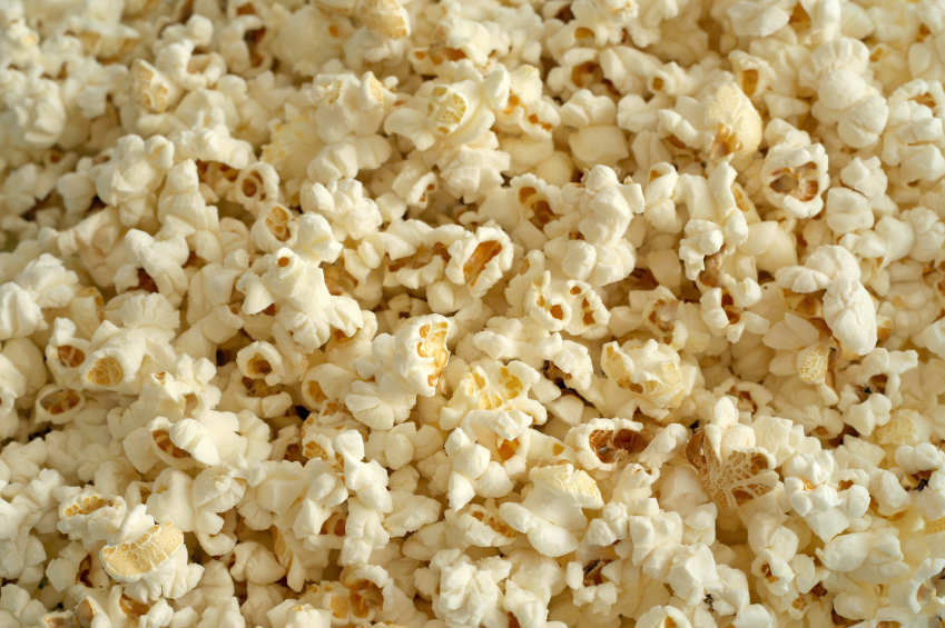 Who knew popcorn was such a great source of healthy carbs?