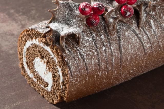 Christmas Yule Log, Buche de Noel