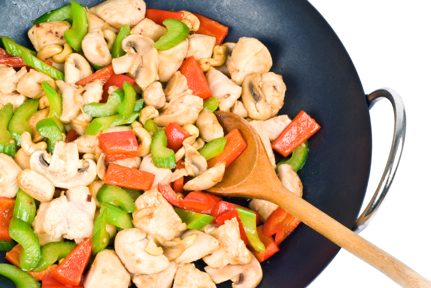 Cashew Chicken Stir Fry Vegetables