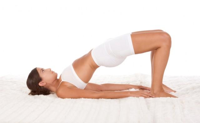 yoga bridge pose, fitness, exercise