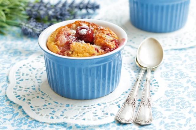 Cherry Clafoutis, cake, dessert