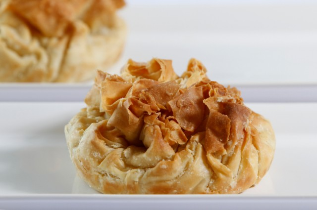 Tart, puff pastry, appetizer, phyllo dough