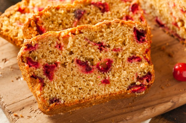Cranberry Bread, loaf