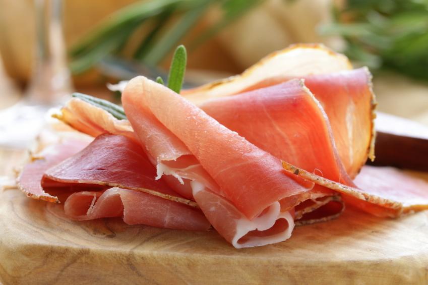 Parma ham, deli meat