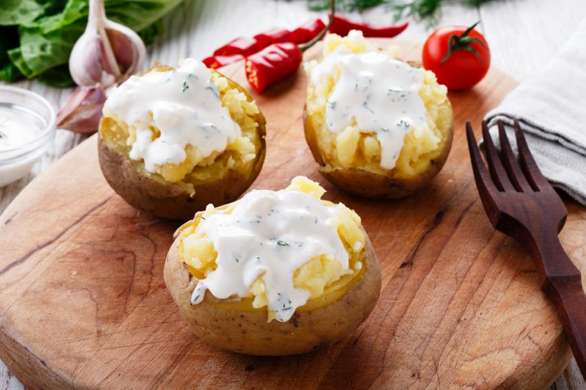Loaded potatoes