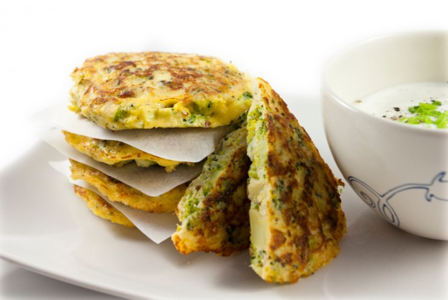 Vegetable Fritter, Broccoli