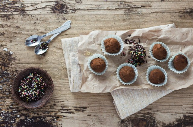 Chocolate Balls, candy, truffles