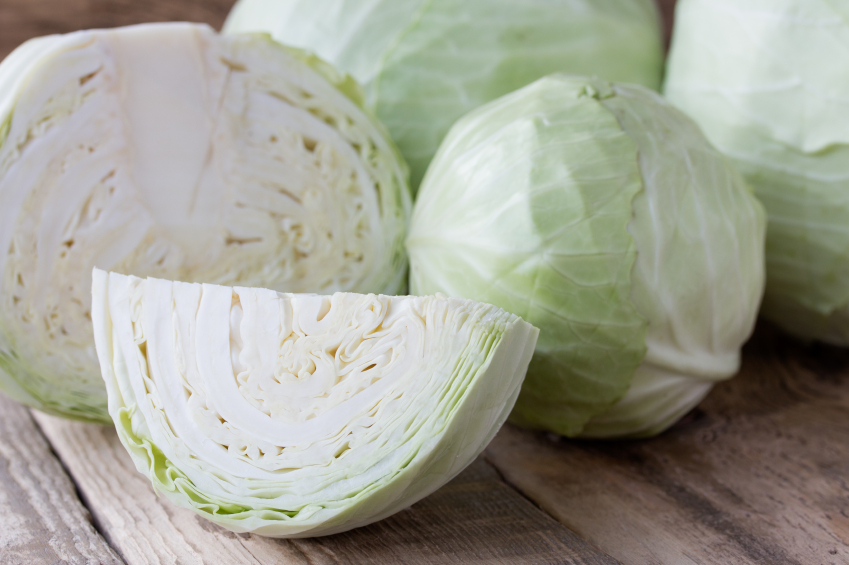 Cabbage, lettuce