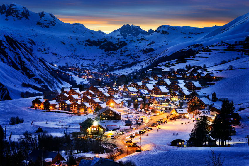Saint-Jean d'Arves, alps, France | Source: iStock