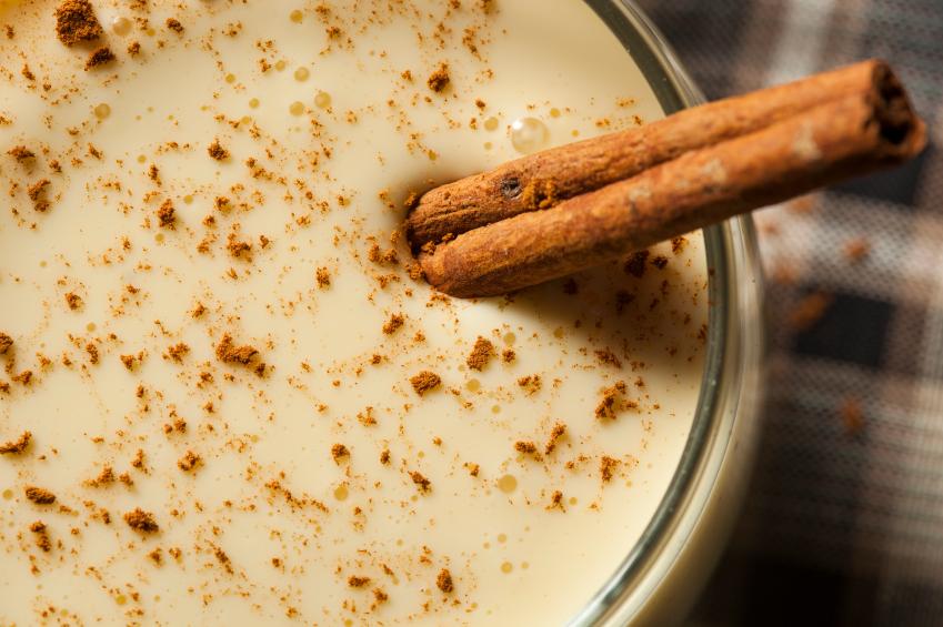 Milk, Cinnamon, Eggnog