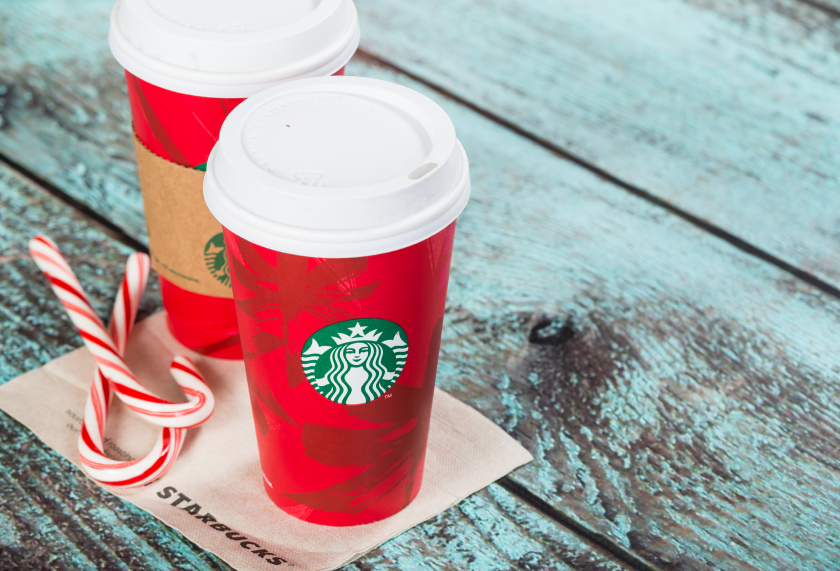 Starbucks Holiday Latte, coffee drinks
