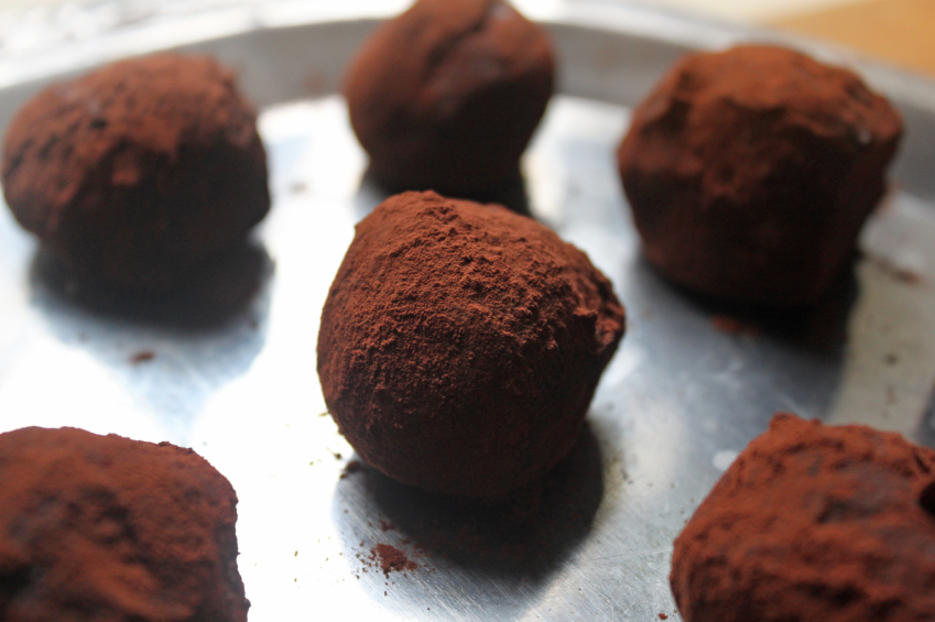 chocolate truffle dough