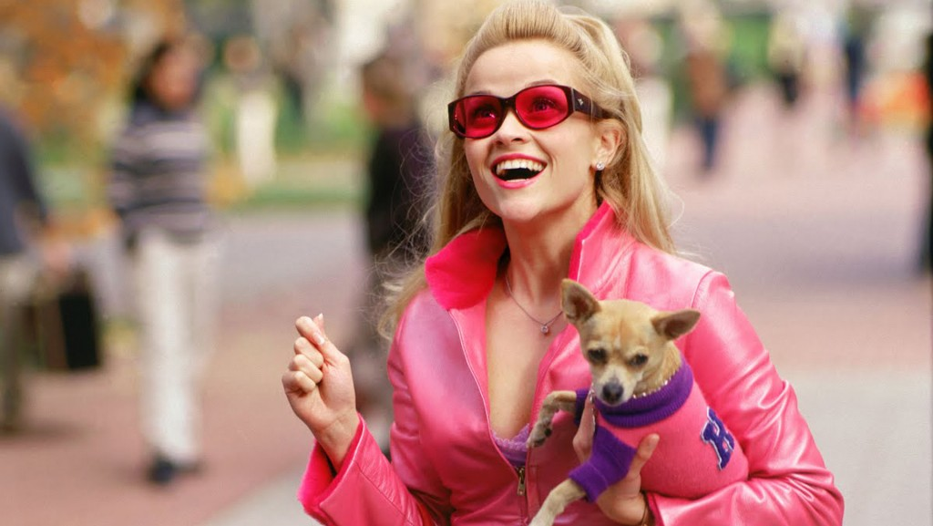 Elle Woods in Legally Blonde