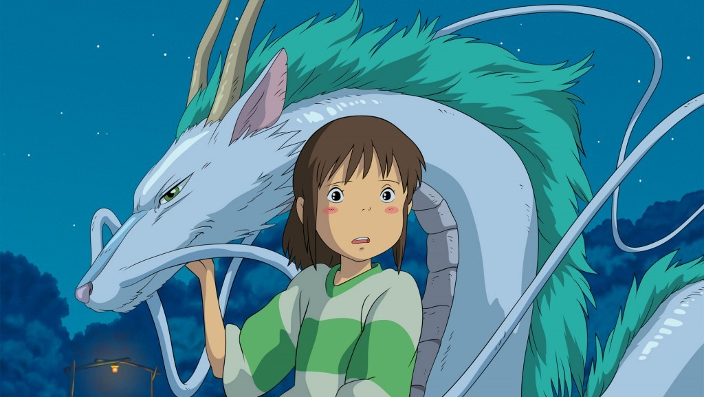 Spirited Away | Source: Tokuma Shoten