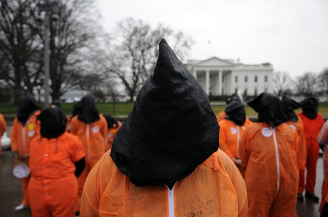 Source: Astrid Riecken/Getty Images News Activists Group Call On Obama To Close Guantanamo Bay Detention Facility