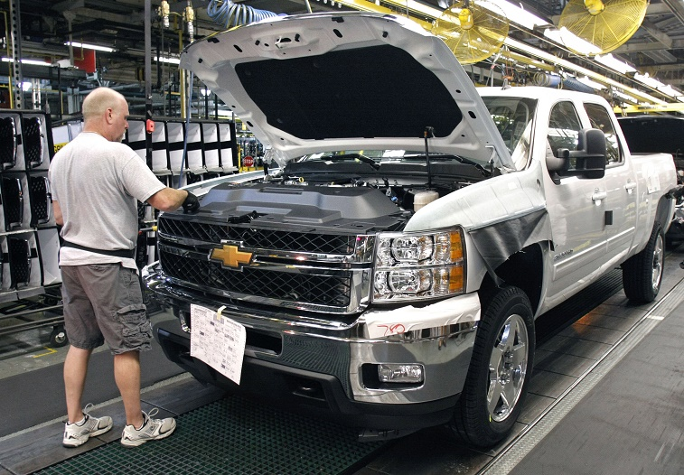 General Motors Announces Investment For Pickup Production At Flint Assembly Plant