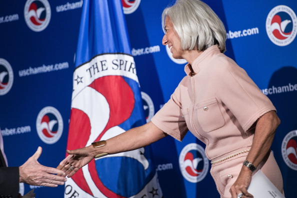 The U.S> Chamber of Commerce convenes at a conference