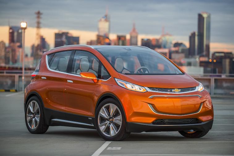 2015 Chevrolet Bolt EV Concept all electric vehicle – front exterior