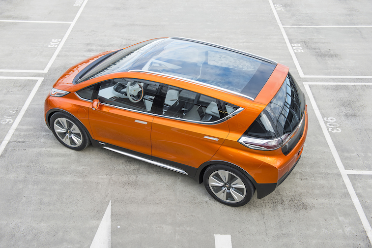 2015 Chevrolet Bolt EV Concept all electric vehicle – glass roof