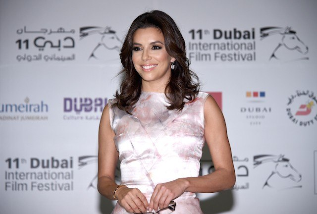 Eva Longoria attends the Global Gift Gala press conference