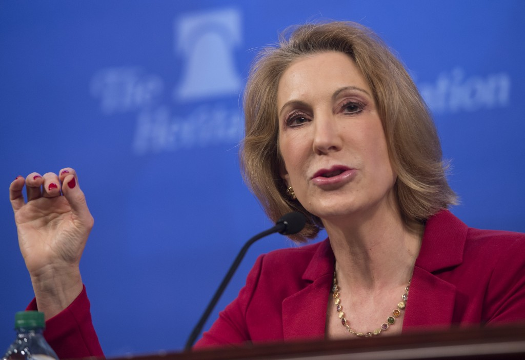 Carly Fiorina has failed in politics and business.
