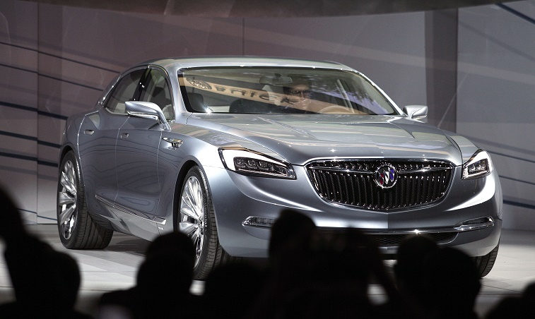 General Motors Holds Media Event Ahead Of Start Of The North American International Auto Show