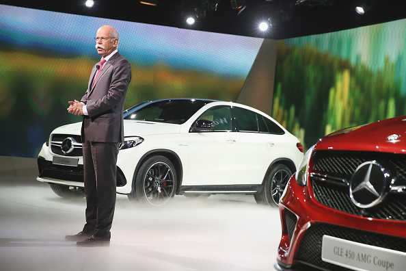 Mercedes-Benz Holds Press Event Prior To Start Of North American International Auto Show