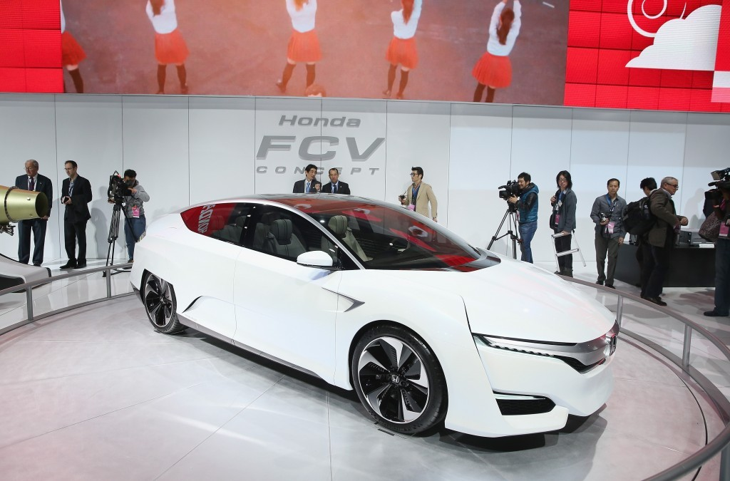 Honda FCV fuel cell Scott Olson/Getty