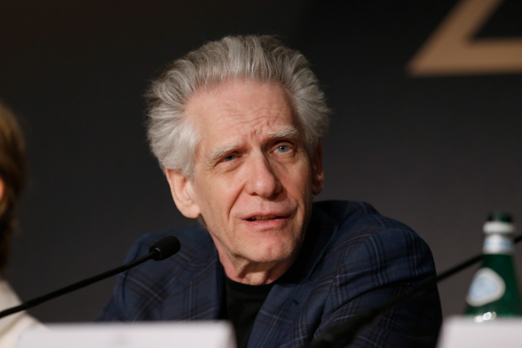 David Cronenberg | Source: Pool / Getty Images