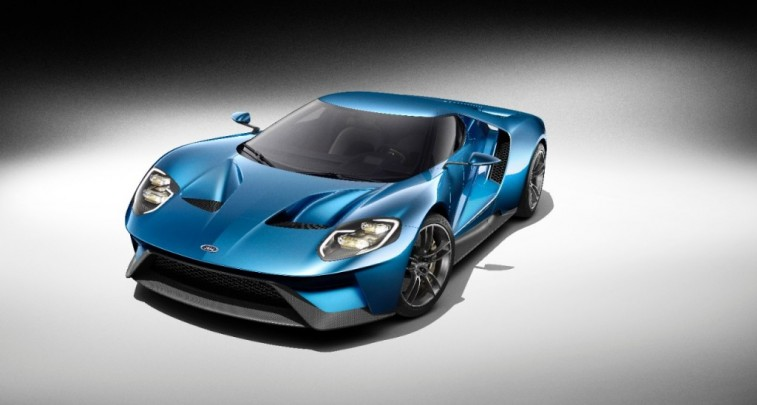 2017 Ford GT's Interior Is Just Like on Show Car