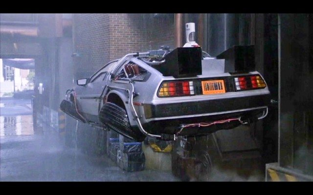Back to the Future - Flying Car