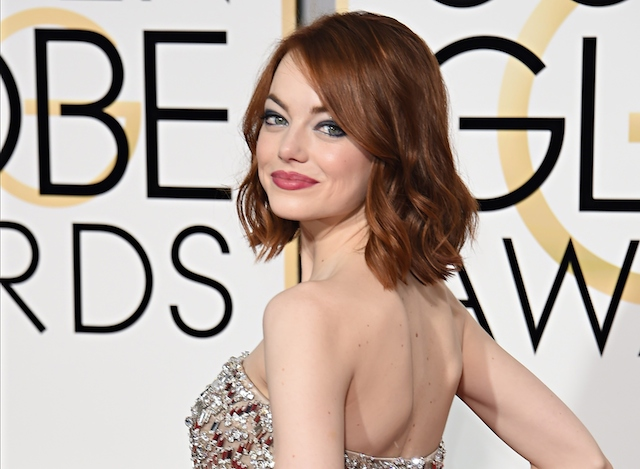 Emma Stone | Mark Ralston/AFP/Getty Images)