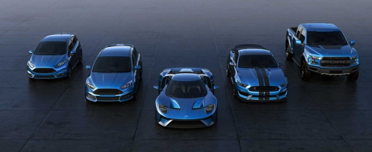 The 2016 Ford Performance lineup