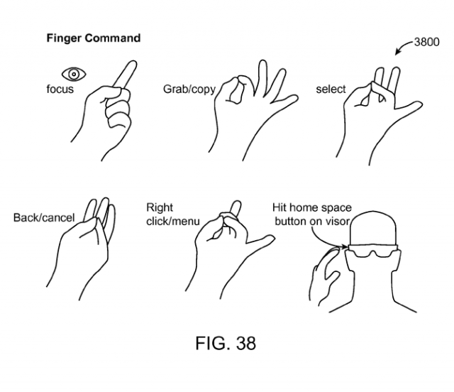 Magic Leap patent application Fig. 38