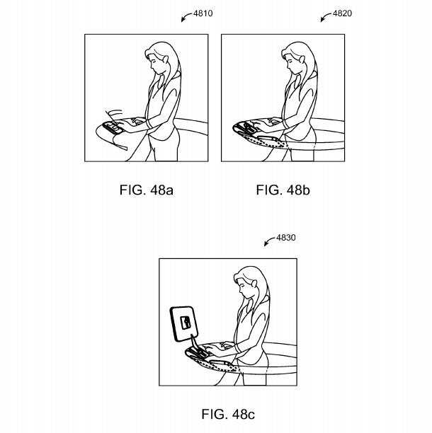 Magic Leap patent application Fig. 48a, 48b, 48c