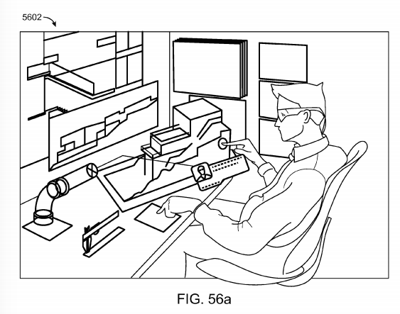 Magic Leap patent application Fig. 56a