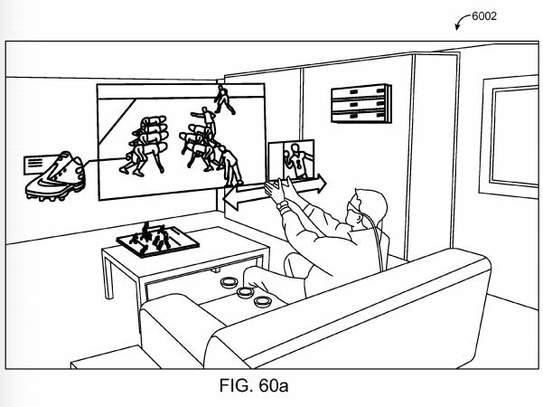 Magic Leap patent application Fig. 60a