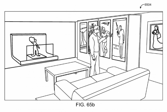 Magic Leap patent application Fig. 65b