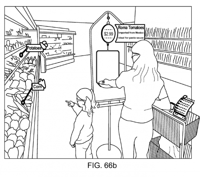 Magic Leap patent application Fig. 66b
