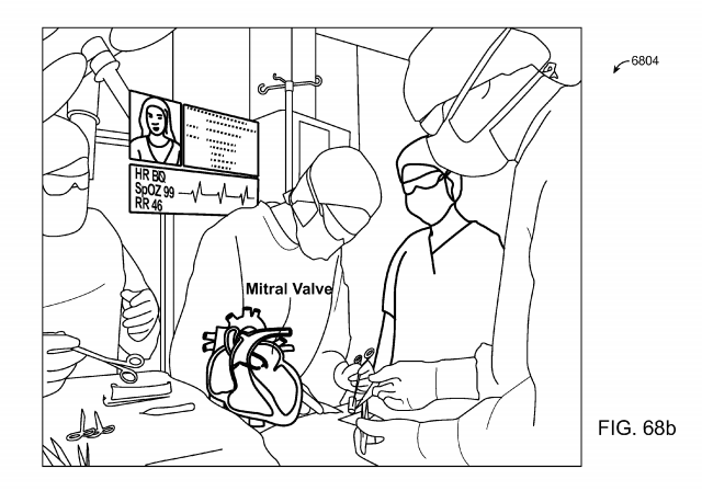 Magic Leap patent application Fig. 68b