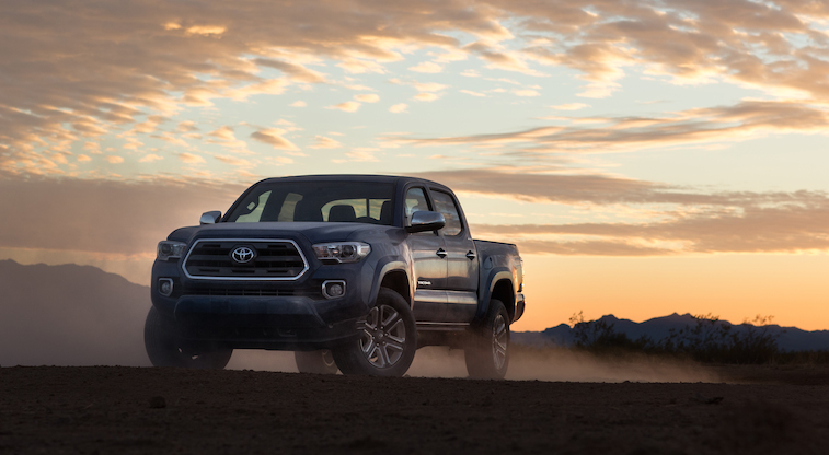When the dust settles, the all-new 2016 #Tacoma stands alone.