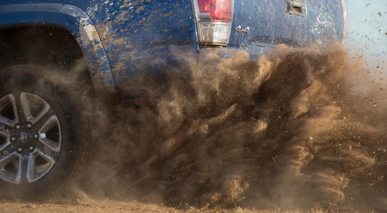 Dirt doesn't stand a chance. The all-new 2016 #Tacoma is coming.