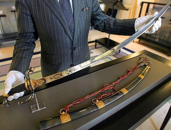 Napoleon's Sword from Facebook