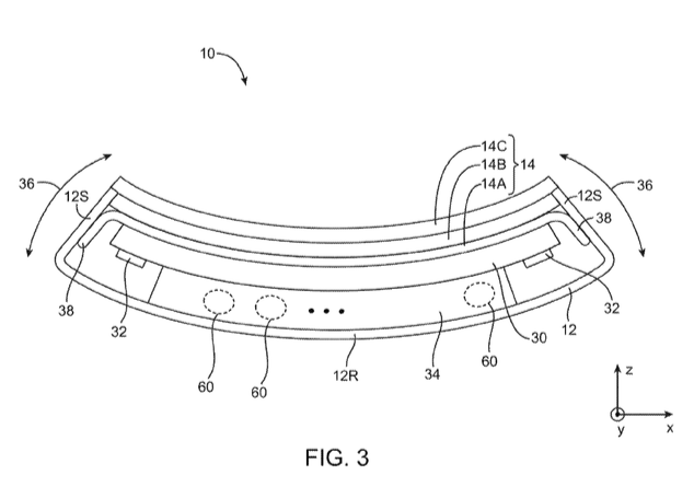 Apple granted a patent for a 'flexible electronic device'